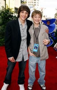 Daniel Hansen and Jordan Fry at the world premiere of