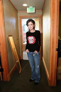 Nora Zehetner at the Gibson Gift Lounge during the 2005 Sundance Film Festival.