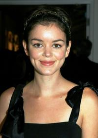 Nora Zehetner at the Mercedes Benz Fashion Week.