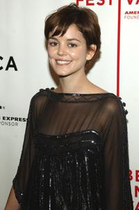 Nora Zehetner at the premiere of