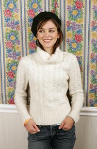 Nora Zehetner at the 2005 Sundance Film Festival.