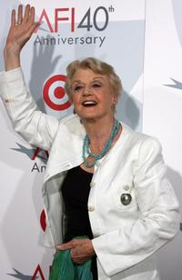 Angela Lansbury at the AFI 40th Anniversary celebration.