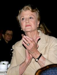 Angela Lansbury at the 57th Annual New Dramatists Benefit Luncheon.
