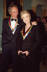 Angela Lansbury and Clint Eastwood at the Kennedy Center Honors Gala.