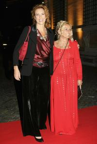 Lucrezia Lante Della Rovere and Director Cinzia Torrini at the Patricia McQueeney Award Dinner Party.