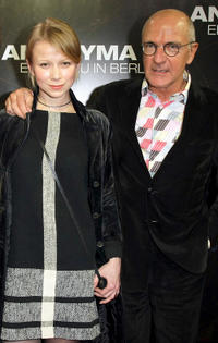 Alexandra Kulikova and director Max Faerberboeck at the afershow party of the Germany premiere of