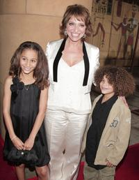 Alexis Llewellyn, Director Susanne Bier and Micah Nicolas Berry at the premiere of