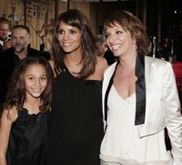 Alexis Llewellyn, Halle Berry and Director Susanne Bier at the premiere of