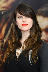 Sasha Spielberg at the world premiere of