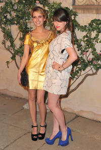Emma Roberts and Sasha Spielberg at the MIU MIU presents Lucrecia Martel's