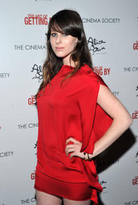 Sasha Spielberg at the New York premiere of