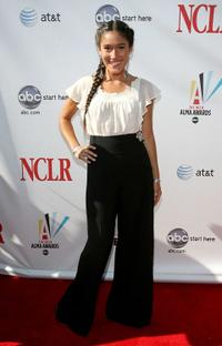Q'orianka Kilcher at the 2008 ALMA Awards.