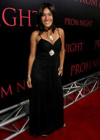 Q'orianka Kilcher at the World premiere of