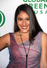 Q'orianka Kilcher at the 7th Annual Global Green USA Pre-Oscar.