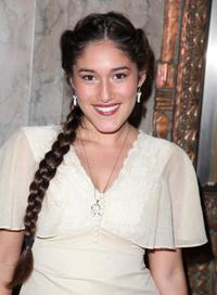 Q'orianka Kilcher at the opening night of