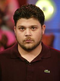 Jerry Ferrara at the MTV's Total Request Live.