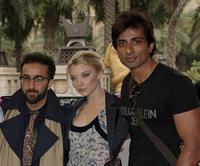 Yassin Alsalman, Natalie Dormer and Sonu Sood at the photocall of
