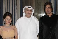 Minissha Lamba, Masoud Amralla Al Ali and Sonu Sood at the premiere of