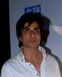 Sonu Sood at the Asias Sexiest Vegetarian Awards.