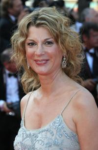 Michele Laroque at the 60th edition of the Cannes Film Festival.