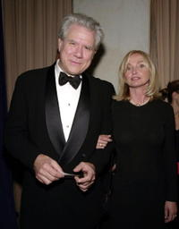 John Larroquette and his wife at the first annual dinner benefitting the