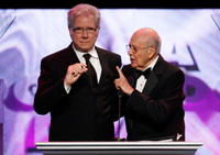 John Larroquette and Carl Reiner at the 60th annual DGA Awards.