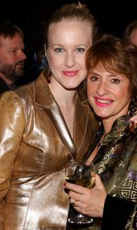 Katie Finneran and Patti Lupone at the opening of