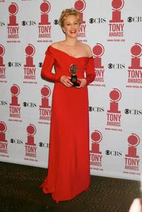 Katie Finneran at the 56th Annual Tony Awards.