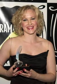 Katie Finneran at the 47th Annual Drama Desk Awards.