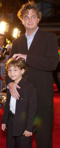 Jonah Bobo and Jordan Roberts at the premiere of