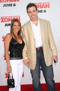 Bill Romanowski and Guest at the premiere of