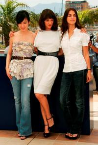 Kelly Lin, Asia Argento and Joana Preiss at the promotion of