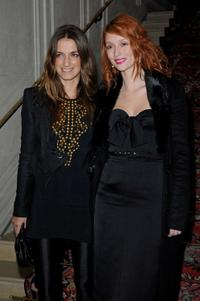 Joana Preiss and Audrey Marnay at the Etam Spring/Summer 2010 Collection Launch.