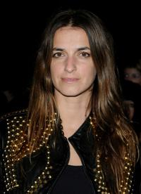 Joana Preiss at the Givenchy Fashion Show during the Paris Fashion Week Haute Couture Spring/Summer 2010.