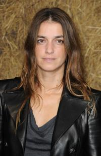 Joana Preiss at the Chanel Pret a Porter show during the Paris Womenswear Fashion Week Spring/Summer 2010.
