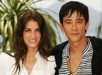 Joana Preiss and Carl Loong NG at the photocall of