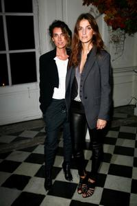 Miss Agnes and Joana Preiss at the Ralph Lauren dinner.
