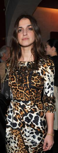 Joana Preiss at the opening of new YSL store.