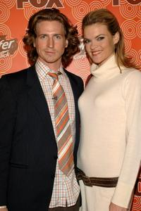 Josh Meyers and Missi Pyle at the FOX Fall Casino Party.