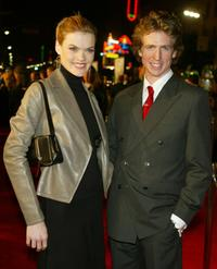 Missi Pyle and Josh Meyers at the Los Angeles premiere of
