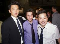 John Cho, David Krumholtz and Bobby Lee at the after party of the premiere of