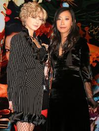 Anna Tsuchiya and Mika Ninagawa at the press conference of