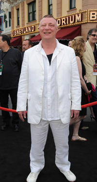 Ian Mercer at the California premiere of