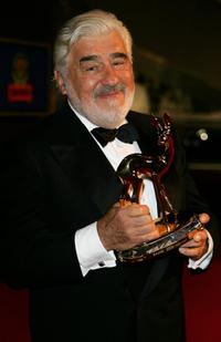 Mario Adorf at the 58th annual Bambi Awards.