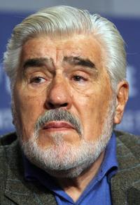 Mario Adorf at the 57th annual Berlin film festival.