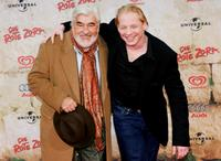 Mario Adorf and Ben Becker at the red carpet during the premiere of