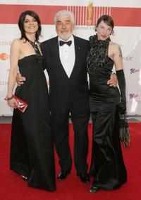 Mario Adorf, Jasmin Tabatabai and Merit Becker at the German Film Award.