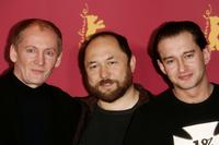 Viktor Verzhbitsky, Director Timur Bekmambetov and Konstantin Khabensky at the photocall of