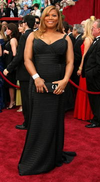 Queen Latifah at the 79th Annual Academy Awards in Hollywood.