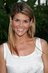 Lori Loughlin at the YSL pool party.